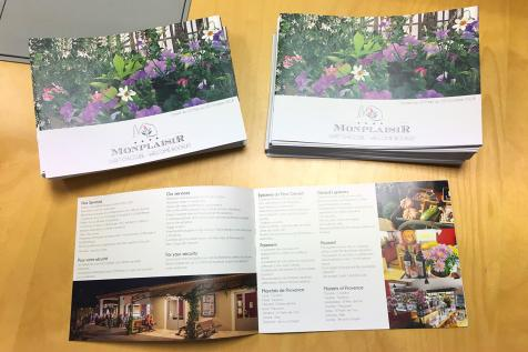 Brochures Camping Monplaisir à Saint-Rémy de Provence